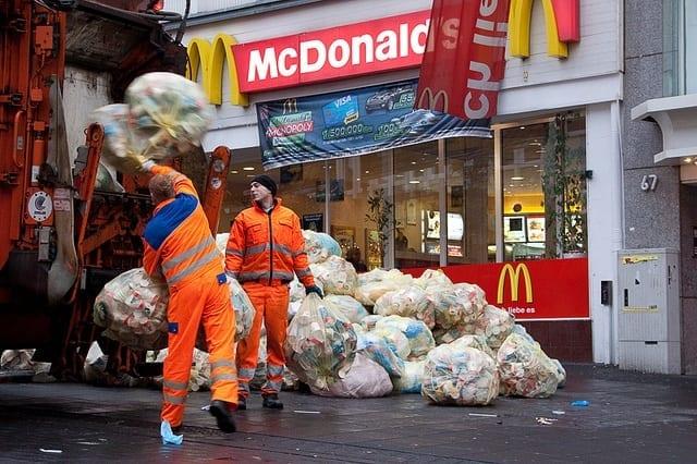 Recyclage Dans Les Fast Food