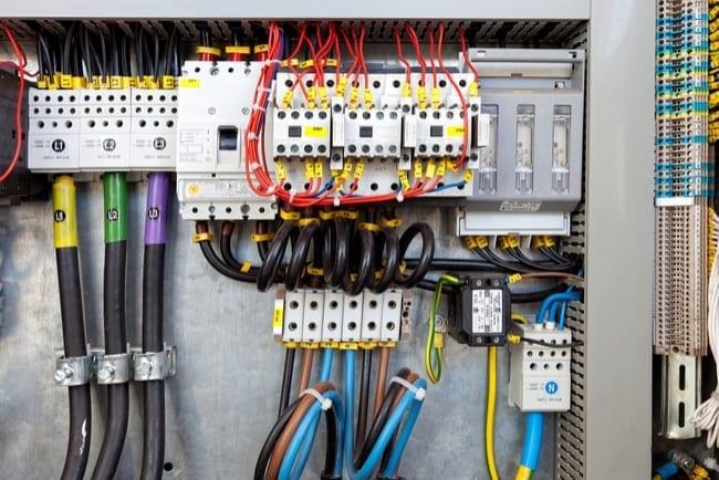 Compteur électrique Extérieur Les Démarches