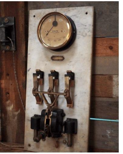 compteur gaz ancien