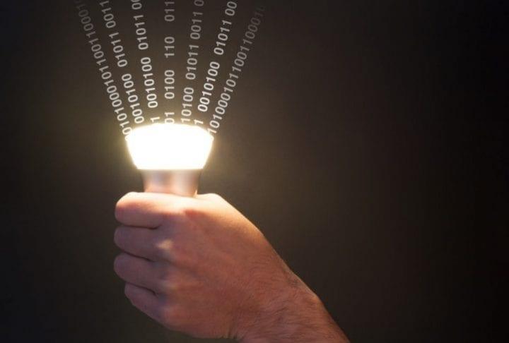 Le Li-fi : Internet haut débit par la lumière !