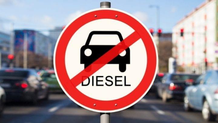 voitures électriques voiture diesel