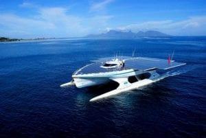 Energie solaire bateau