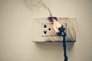 Incendie Nouveau compteur EDF