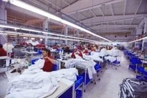 usine vêtements