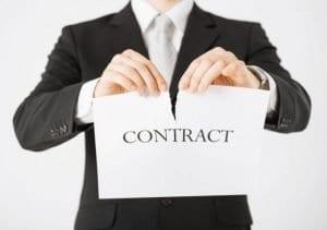 résiliation contrat electricité