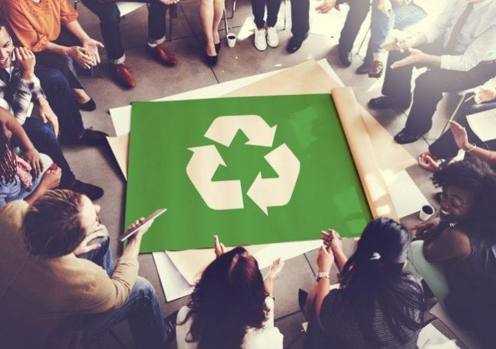 recyclage tournage cinéma