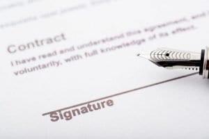 Nouveau contrat d'électricité