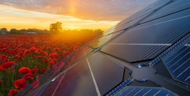 mise en service urban solar energy