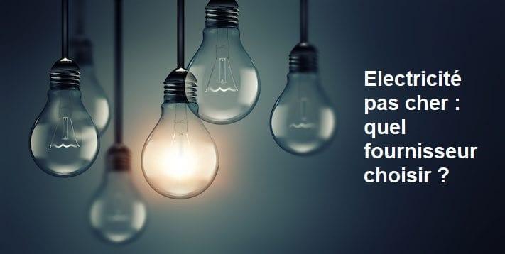 Electricité pas cher