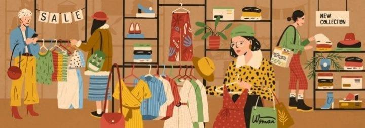 consommation vêtements