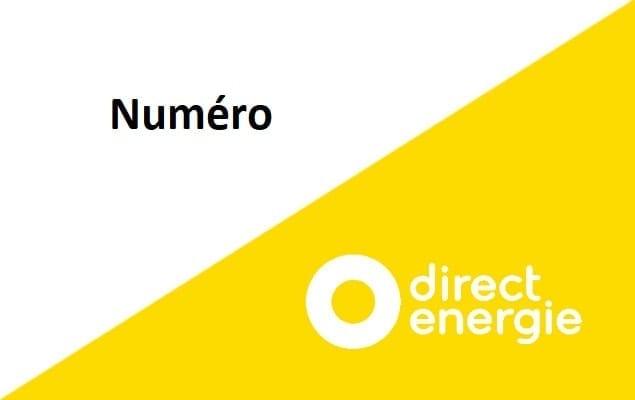 Numéro Direct Energie