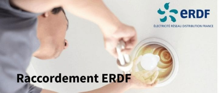 ERDF raccordement : liste des démarches