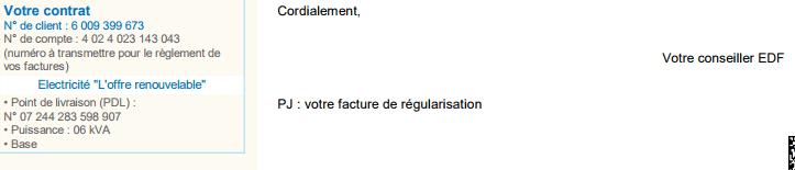 tranches tarifaires EDF