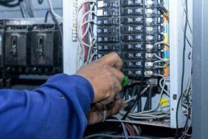 mise en service électricité coupée
