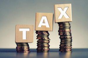hausse des taxes