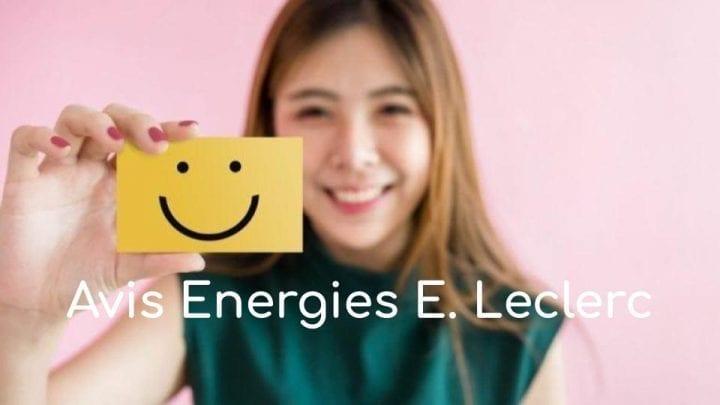 Avis Energies E.Leclerc