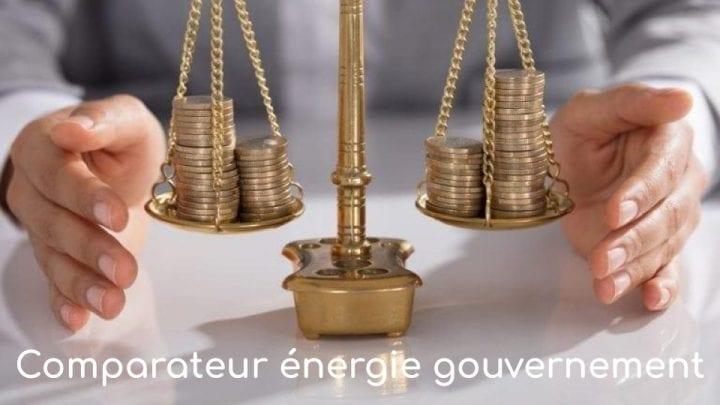 Comparateur Energie gouvernement