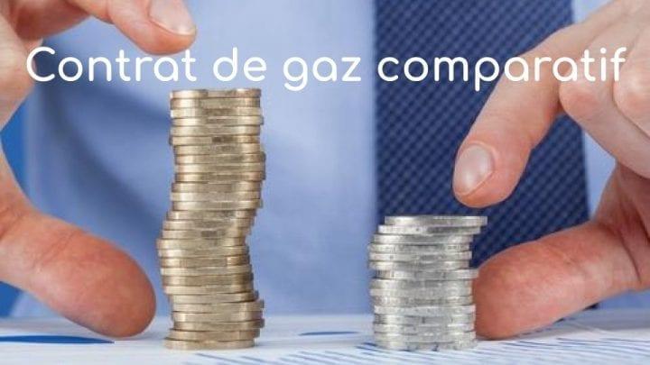 Contrat gaz comparatif