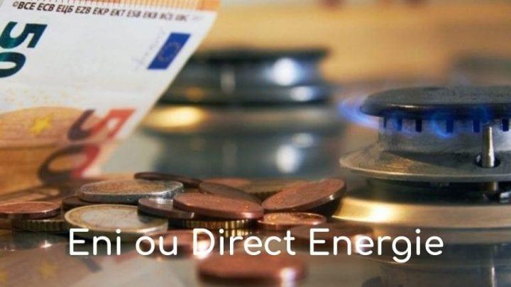 Eni ou Direct Energie