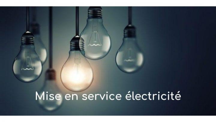 mise en service electricite
