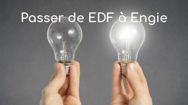 Passer de EDF à Engie
