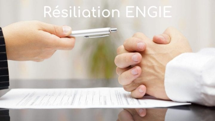 résiliation engie