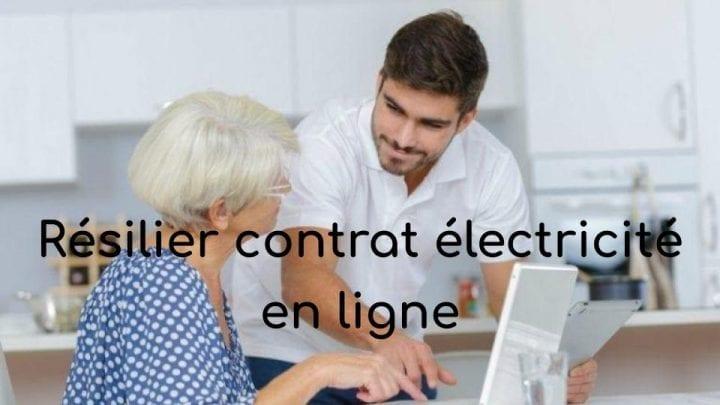 resilier contrat electricite en ligne