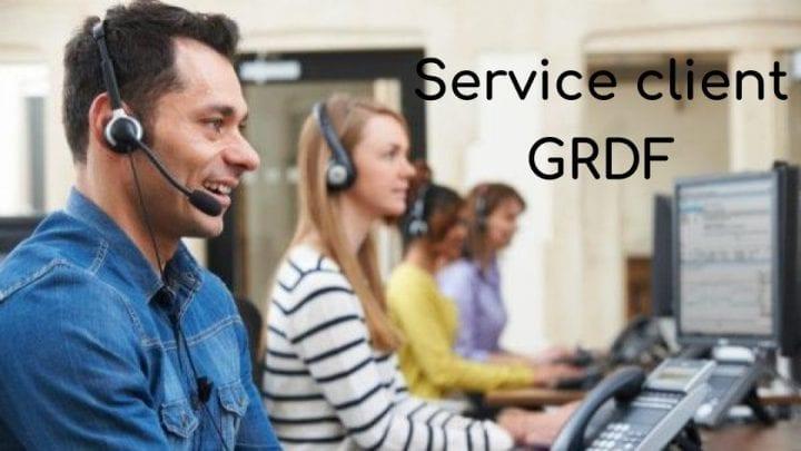 Service client GrDF