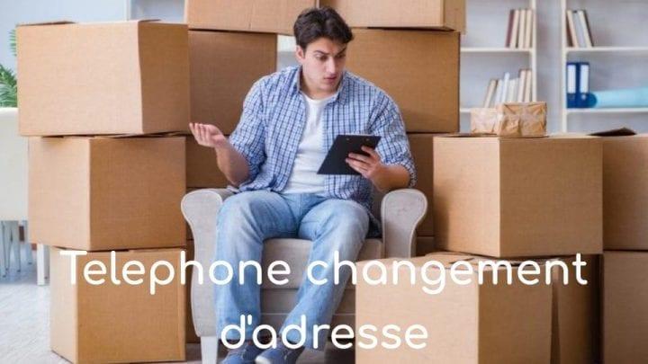 téléphone changement d'adresse edf
