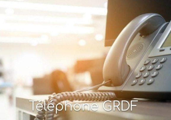 Téléphone GRDF
