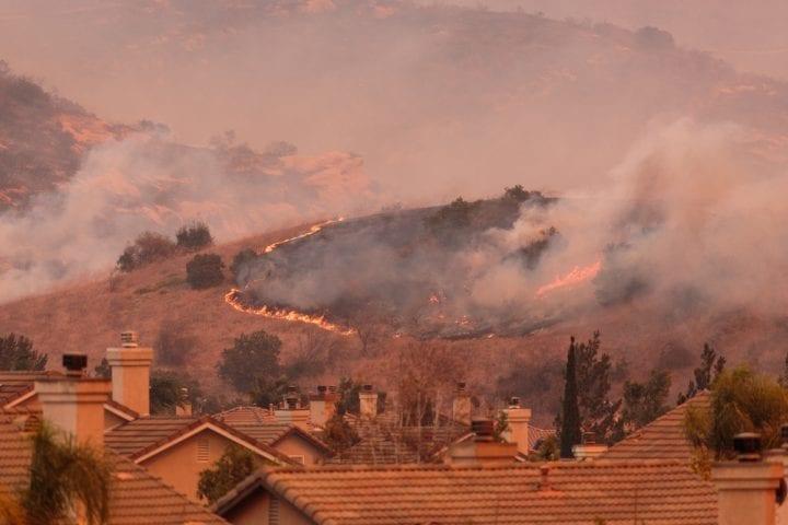 incendie foret maison