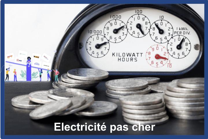 electricite pas cher