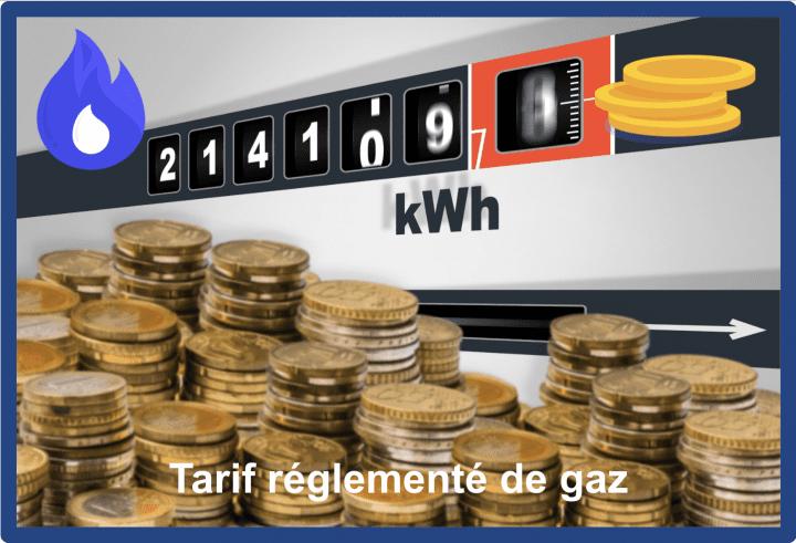 tarif reglementé de gaz