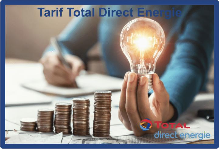 tarif total direct energie